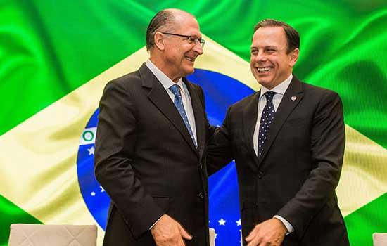 Desempenho de Doria em pesquisa causa alívio em grupo de Alckmin