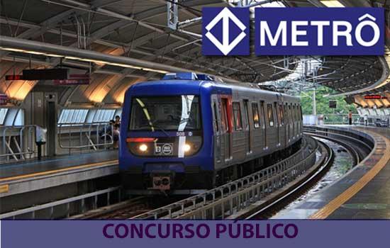 Metrô de SP abre concurso para cargo de nível médio