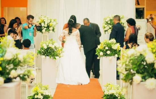 O evento promoveu a legalização da situação civil de 22 casais