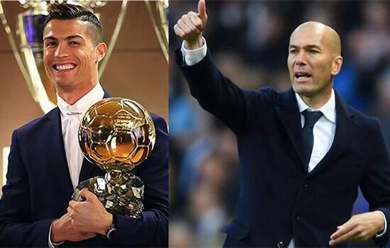 Após outro prêmio, Cristiano Ronaldo é exaltado por Zidane: 'Melhor da história'