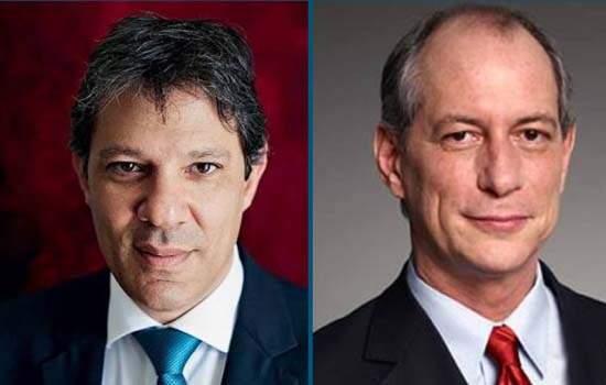 Lula deu aval para articulação de Haddad com Ciro Gomes