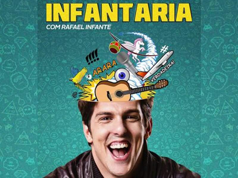 Eventos em Especial - Visto por mais de 200.000 pessoas, o solo de humor Infantaria faz sua estreia em São Paulo, após...