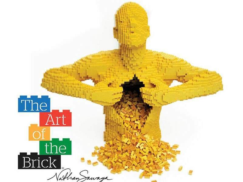 Eventos em Especial - A maior exposição de arte com LEGO do mundo chega ao Brasil.Obras criadas pelo artista Nathan...