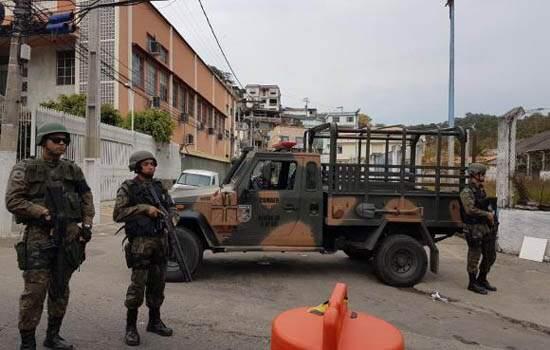Forças Armadas e polícias fazem operação no Rio