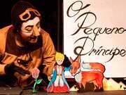 Eventos em Santo André - O espetáculo é inspirado no livro de Antoine de Saint-Exupéry e apresenta as aventuras do Pequeno...