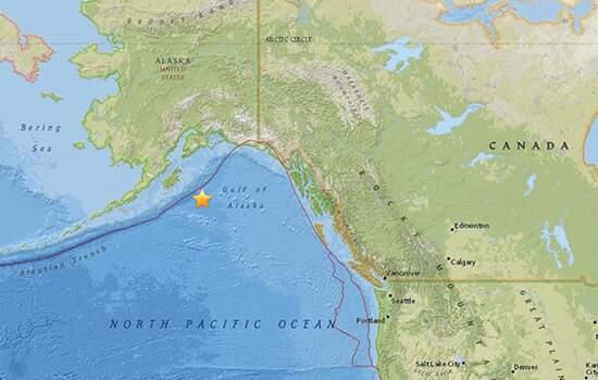 Terremoto de magnitude 8,2 atinge Alasca