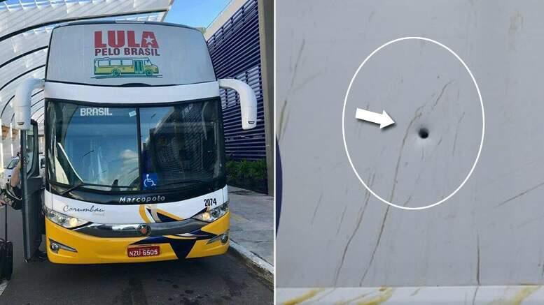 Resultado de imagem para Tiros contra caravana de Lula podem ter sido plantado pelo próprio PT